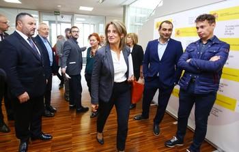 Ribera anuncia cuatro convenios para reactivar las cuencas