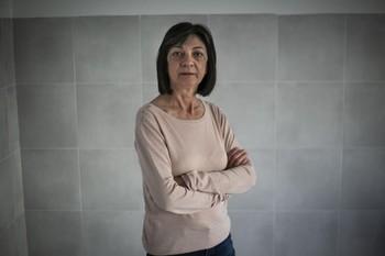 María Ángeles García, trasplantada