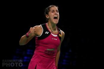 Carolina Marín debuta con victoria en el Open de Dinamarca
