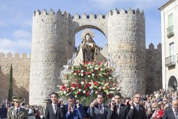 Ávila tendrá el día 15 su procesión de Santa Teresa