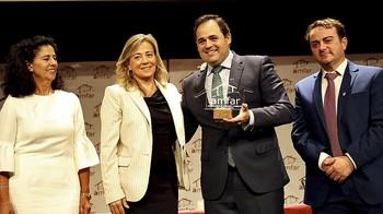 Núñez participó en el acto organizado por Amfar en apoyo a la mujer rural.