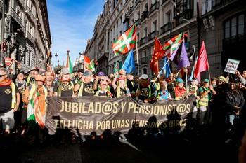 Las marchas por las pensiones dignas llegan al Congreso