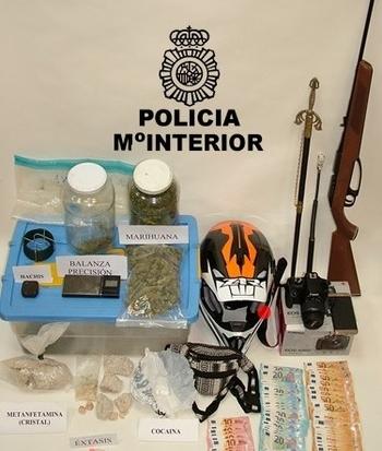 Detenidas dos personas por tráfico de drogas en Soria