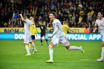Rodrigo consigue el billete en el minuto 92