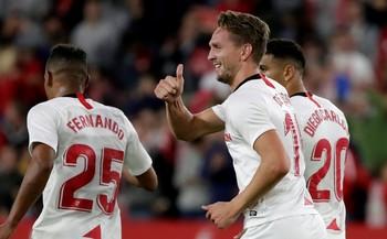 El Sevilla se afianza en la tabla