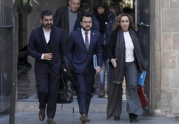 El Govern convocará la mesa de partidos en diciembre
