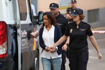 Ama Julia Quezada ingresa en la cárcel de mujeres de Brieva