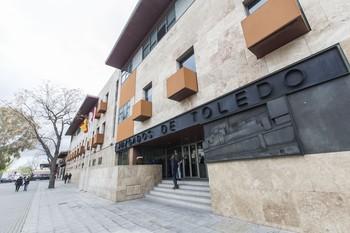 El Palacio de Justicia de Toledo.