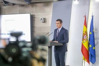 Sánchez se reunirá con Casado, Rivera e Iglesias por Cataluñ