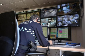 La centralita de la Policía Local recibió el aviso desde un establecimiento de la calle Concepción.