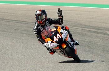 Arón Canet  sorprende con la 'pole' en Moto3
