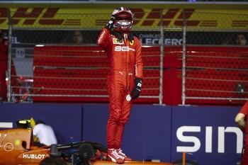Leclerc y Ferrari sorprenden con la 'pole'