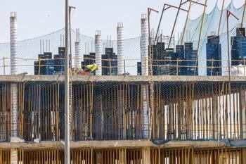 El sector de la Construcción generó empleo en octubre.