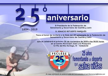 La Federación de Salvamento celebra su 25 aniversario