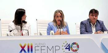 Tolón, vicepresidenta de la FEMP