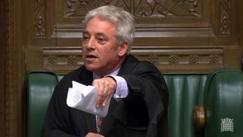 John Bercow impide que se vote hoy el acuerdo del Brexit