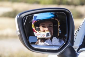 La piloto de rallies y odontóloga burgalesa Cristina Gutiérrez.