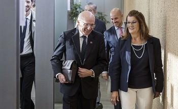 El embajador de Canadá y la presidenta de la Cámara de Comercio de Toledo abrieron la jornada técnica.