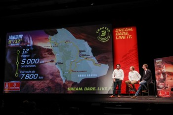 El espíritu del Dakar regresa en Arabia Saudí