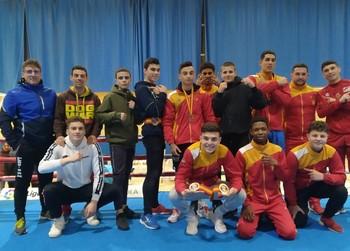 Castilla y León, campeona de España júnior de boxeo