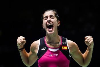 Carolina Marín, campeona del Internacional de Italia