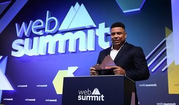 Ronaldo, en el World Football Summit del año pasado.