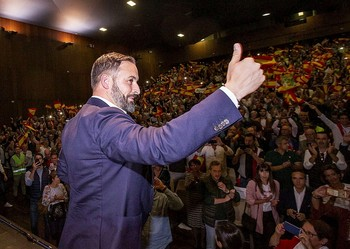 Abascal protagonizó un multitudinario acto en Albacete.
