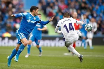 Molina y Mata apuntan, Cucurella y Ángel, disparan