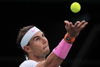 Nadal supera la prueba del saque para las Finales de la ATP