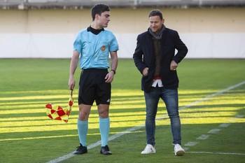 Mario Simón, técnico del Atlético Albacete.