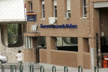 Fachada de la sede de la Jefatura Superior de Policia de Castilla-La Mancha en Toledo.