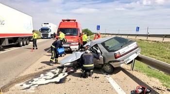 El 60% de los accidentes de Valladolid fueron en una autovía