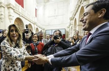 Moreno, investido presidente de la Junta de Andalucía