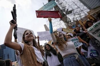 Los jóvenes piden la palabra contra el cambio climático