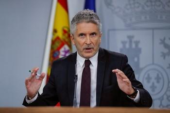 Marlaska asume que la normalidad tardará en volver a Cataluña