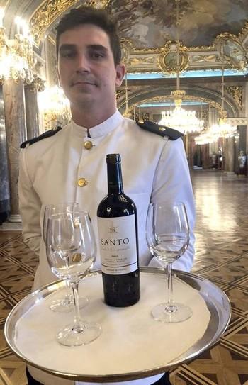 Vinos de Valladolid en la recepción del Palacio Real