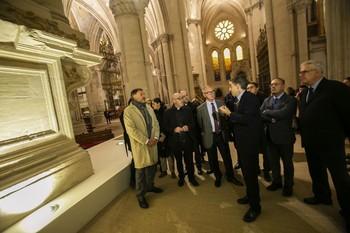 Guirao ha visitado este martes la catedral de Cuenca