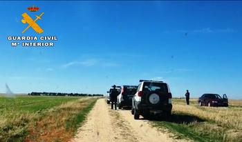 La Guardia Civil investiga a nueve personas por furtivismo