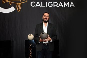 El escritor Alberto Martín, premio Talento Caligrama