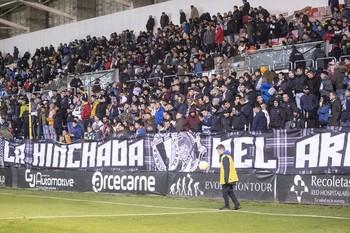 400 entradas para ver al Burgos CF en Logroño