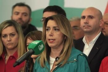 Susana Díaz pide perdón a Andalucía por el 'caso de los ERE'