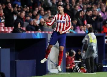 Morata reanima al Atlético