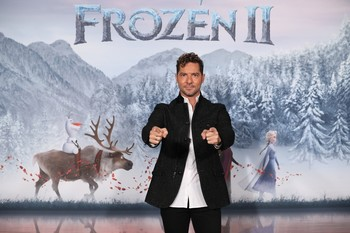 David Bisbal pone voz al tema final de 'Frozen 2'