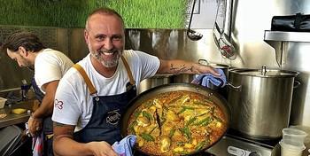 El estrellado chef madrileño Rodrigo de la Calle.