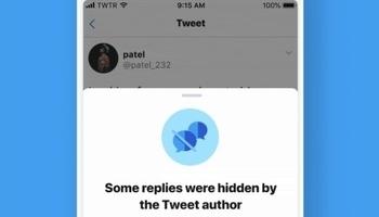 Twitter oculta las respuesta de los tuits