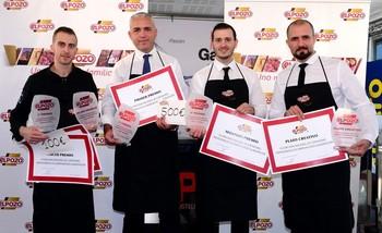 Ganadores del III Concurso Nacional de Cortadores Profesionales de Jamón y vista general del concurso.
