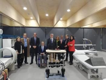 Aspaym incorpora nueva máquina de tratamientos en su sede