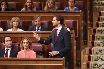 Casado avisa al PSOE: