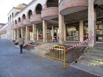 Guardo integra Los Arcos en la nueva plaza del Ayuntamiento