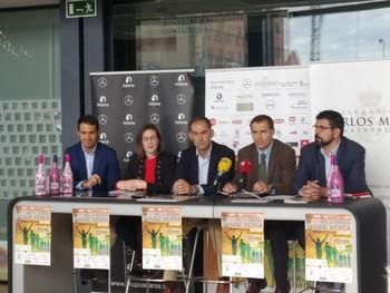 Atletas internacionales en la Milla Urbana de Valladolid